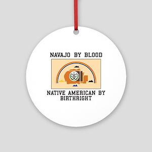 Navajo Blood Ornament (Round)