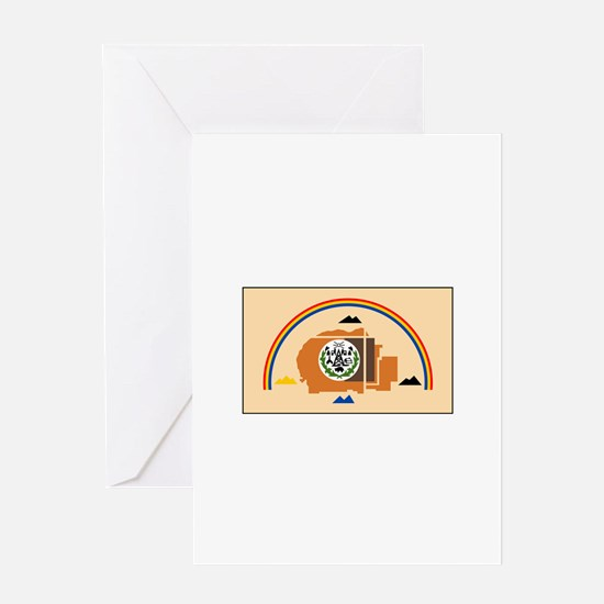 Navajo Nation Flag Greeting Cards