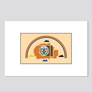 Navajo Nation Flag Postcards (Package of 8)