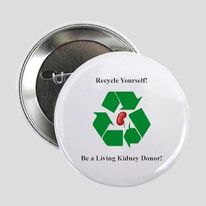 """Living Organ Donor 2.25"""" Button"""