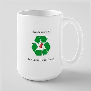 Living Organ Donor Large Mug