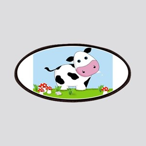 Cow in a Field Patch
