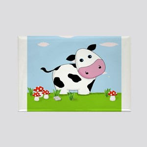 Cow in a Field Magnets
