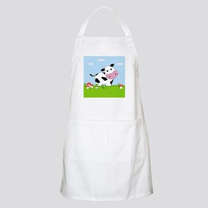Cow in a Field Apron