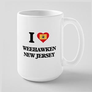 I love Weehawken New Jersey Mugs