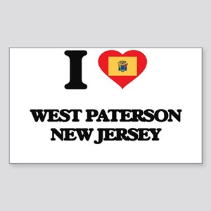 I love West Paterson New Jersey Sticker