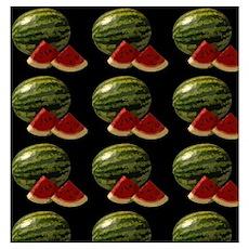 black watermelon Poster
