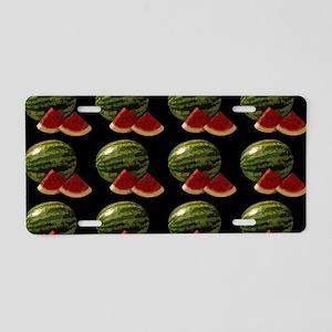 black watermelon Aluminum License Plate