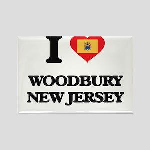 I love Woodbury New Jersey Magnets