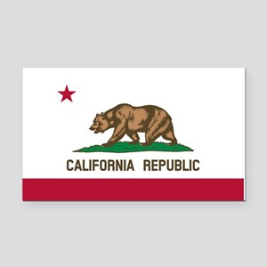 California State Flag Rectangle Car Magnet