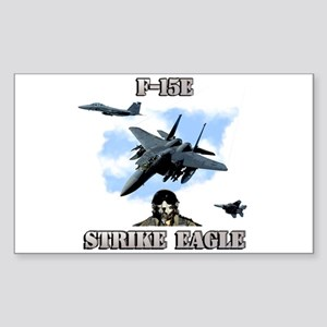 F-15E Strike Eagle Rectangle Sticker