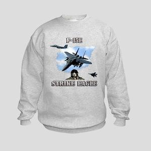 F-15E Strike Eagle Kids Sweatshirt