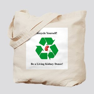 Living Kidney Donor Tote Bag