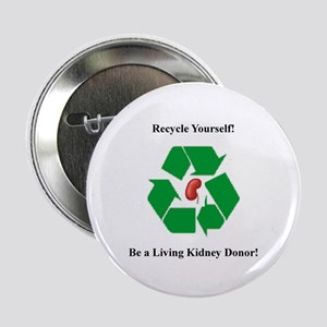 "Living Kidney Donor 2.25"" Button (10 pack)"