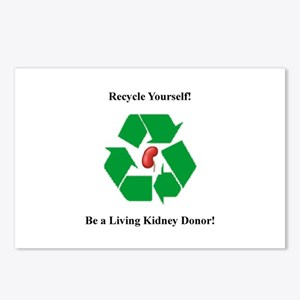 Living Kidney Donor Postcards (Package of 8)