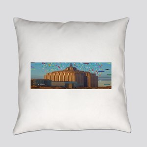 Surreal Empire State Building Everyday Pillow