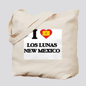 I love Los Lunas New Mexico Tote Bag