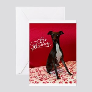 Be Merry Greeting Cards