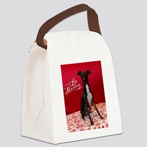 Be Merry Canvas Lunch Bag