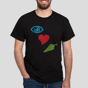 I Love Spicy Dark T-Shirt