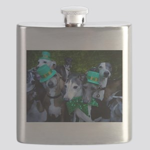 Lucky Dogs Flask