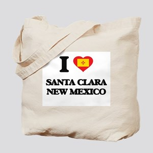 I love Santa Clara New Mexico Tote Bag