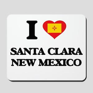 I love Santa Clara New Mexico Mousepad