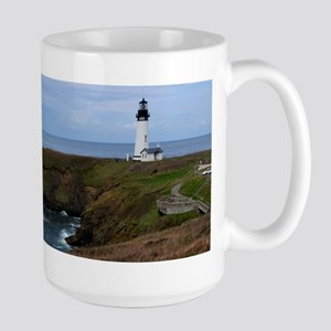 Yaquina Head Lighthouse Mugs