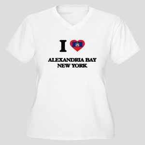 I love Alexandria Bay New York Plus Size T-Shirt