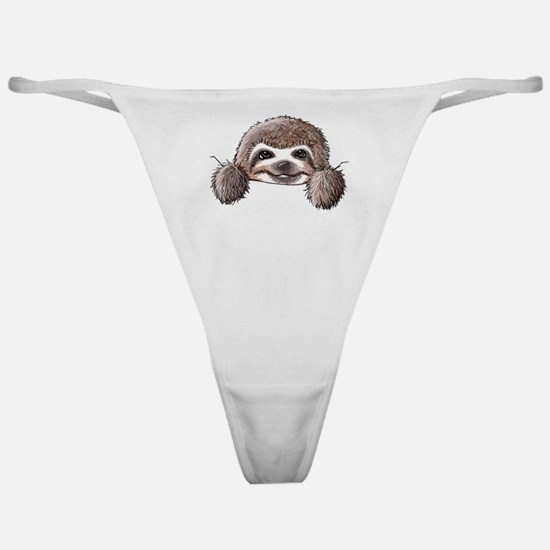 KiniArt Pocket Sloth Classic Thong