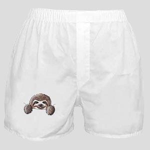 KiniArt Pocket Sloth Boxer Shorts