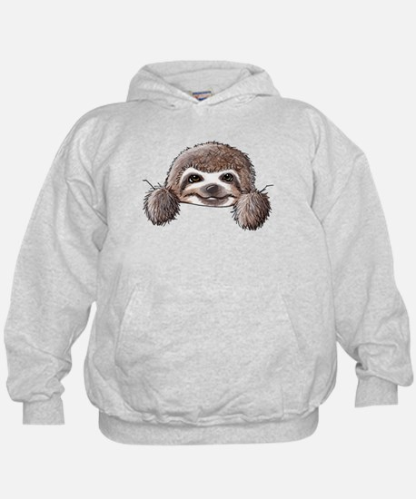 KiniArt Pocket Sloth Hoody