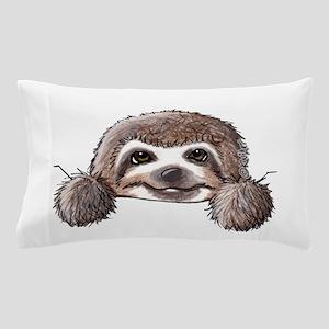 KiniArt Pocket Sloth Pillow Case