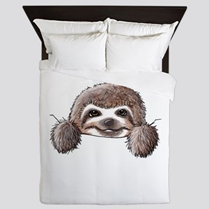 KiniArt Pocket Sloth Queen Duvet