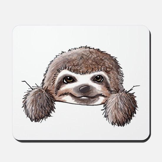 KiniArt Pocket Sloth Mousepad