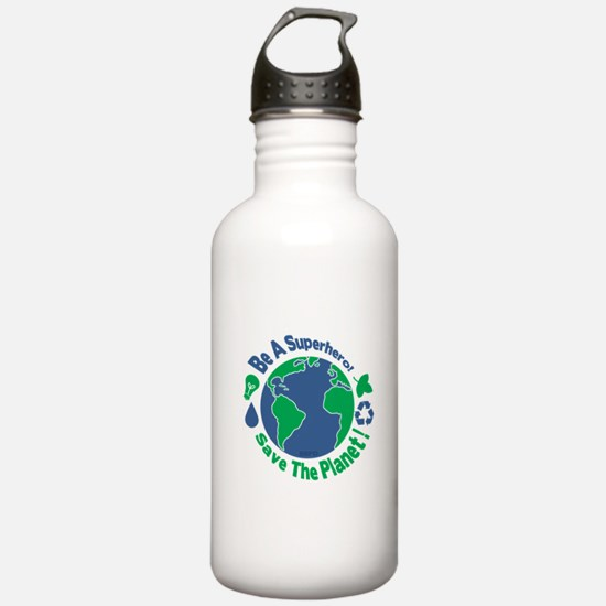Earth Day Hero Water Bottle
