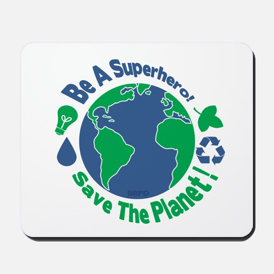 Earth Day Hero Mousepad