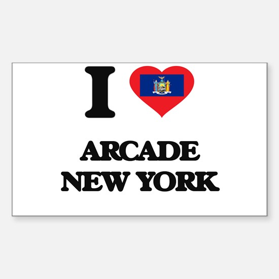 I love Arcade New York Decal
