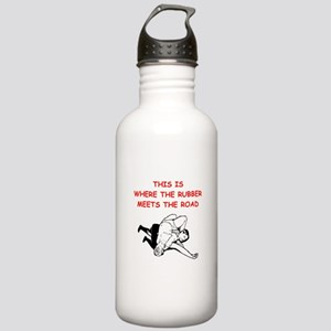 wrestling joke on gifts and t-shirts. Water Bottle