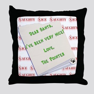 Pointer Nice Throw Pillow