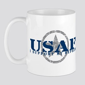 I Support My Nephew - Air Force Mug