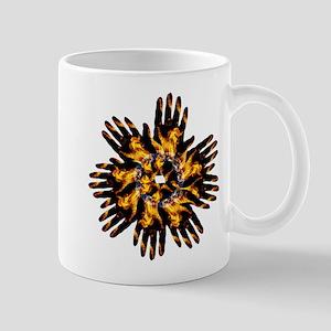 Blazing Hand Starburst Mugs