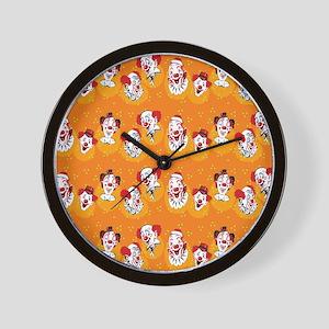 Clowns Wall Clock