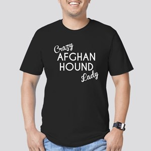Crazy Afghan Hound Lady T-Shirt