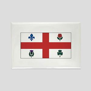Montreal Quebec Flag Magnets