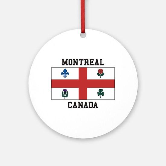 Montreal Canada Ornament (Round)