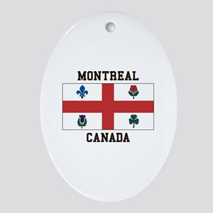 Montreal Canada Ornament (Oval)
