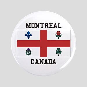Montreal Canada Button