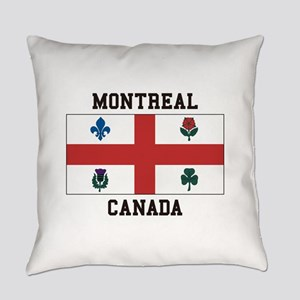 Montreal Canada Everyday Pillow