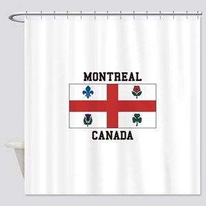 Montreal Canada Shower Curtain
